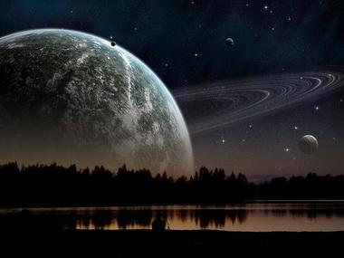 Сатурн — Луна